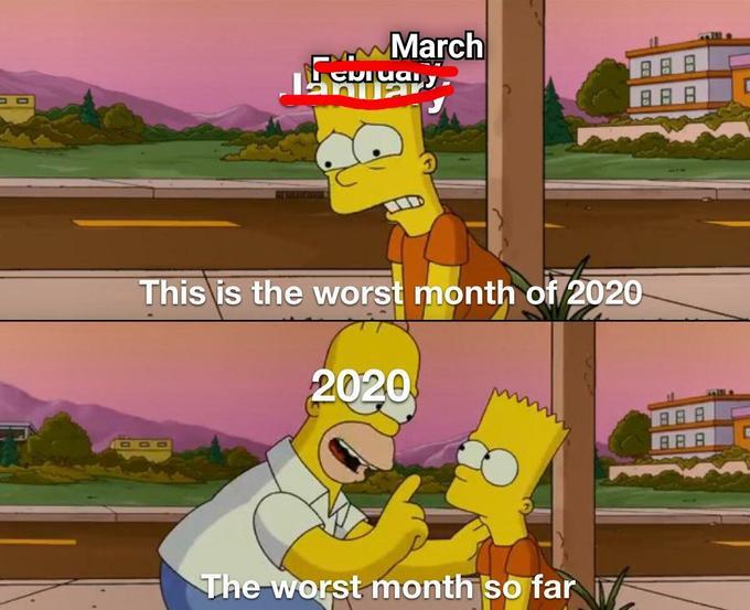 The Simpsons worst month of 2020 picture ile ilgili görsel sonucu
