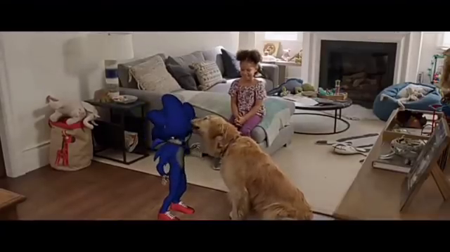 Unfinished Sonic Dog Sonic The Hedgehog 2020 Film Know Your Meme
