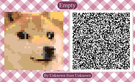 Here Is A Qr Code For All You Gamers R Dogelore Ironic Doge