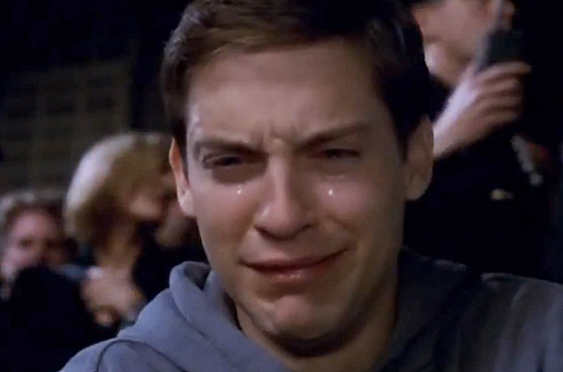 Peter Parker Crying | Know Your Meme