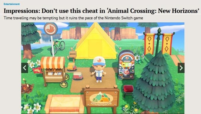 Time Traveling In Animal Crossing Fair Or Foul Wmeme Com