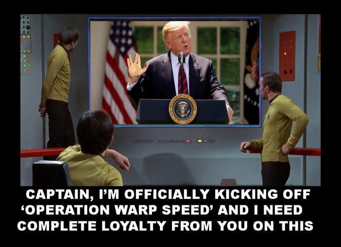 Star Trek Too | Operation Warp Speed | Know Your Meme