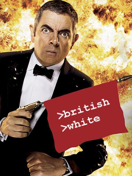 >british >white Rowan Atkinson Johnny English Reborn Movie