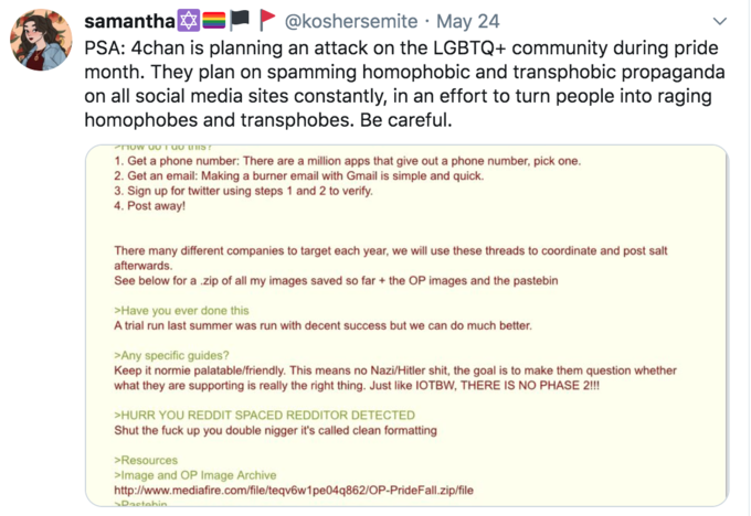 Rumors Of 4chan Anti Lgbtq Raid Operation Pridefall Circulate