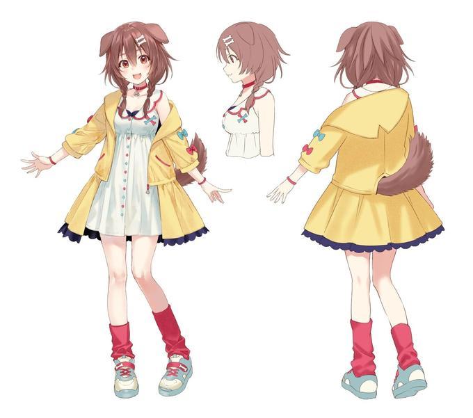 Cartoon Anime Costume design