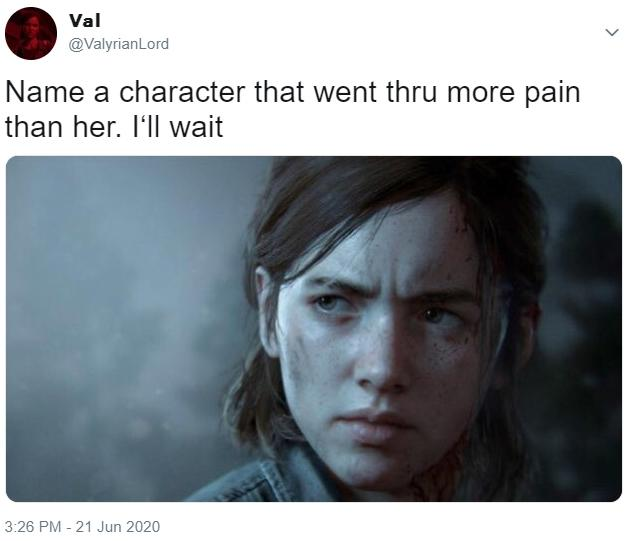 Name A Character Who Went Through More Pain Than Her Know Your Meme