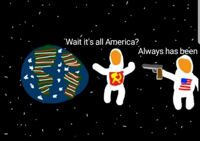 Wait it's all America? Always has been Text Cartoon Font
