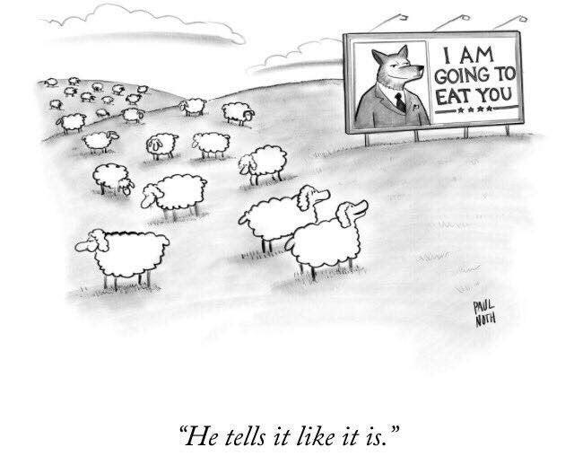 """I AM GOING TO EAT YOU **** PAUL NOTH """"He tells it like it is."""" Text Cartoon"""