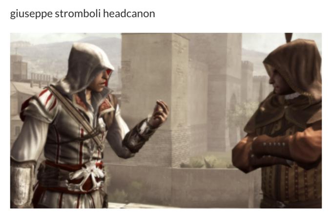giuseppe stromboli headcanon Alexandre Amancio Assassin's Creed II Assassin's Creed: Brotherhood Assassin's Creed Syndicate Ezio Auditore