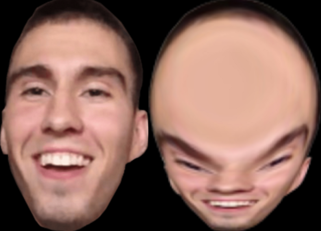 xQc Face Forehead Cheek Nose Chin Eyebrow Skin Facial expression People Head Smile Jaw Lip Close-up Mouth Ear Eye Human Tooth Organ Fun Temple