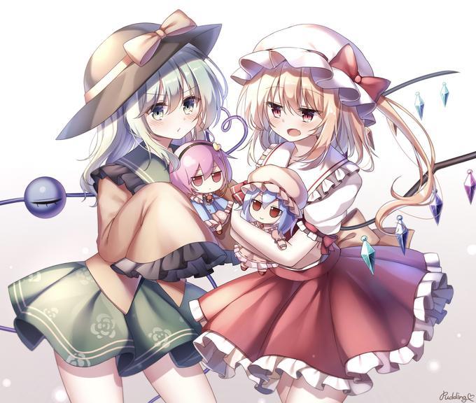 Puddinge Cartoon Anime Cg artwork