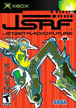 X8OX SAF PRA TM JETSETRADIOFUTURE TEEN SEGA Jet Set Radio Jet Set Radio Future Pc game