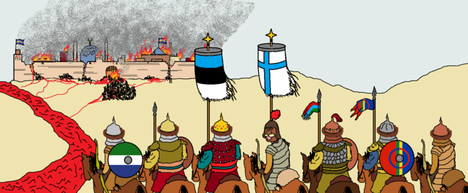 Mongol Empire Cartoon Animated cartoon