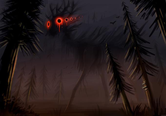 Tree Nature Darkness Night Sky Atmospheric phenomenon Natural environment Palm tree Woody plant Arecales Plant