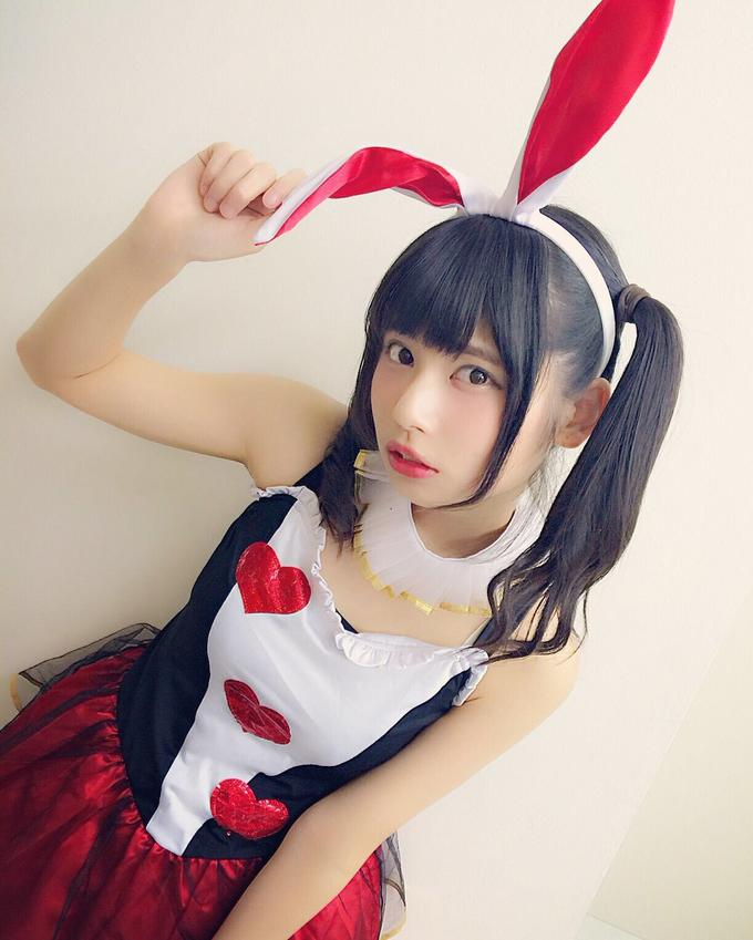 Kaname Rin Ear Japanese idol Clothing Hime cut Hairstyle Costume Cosplay Wig Gravure idol