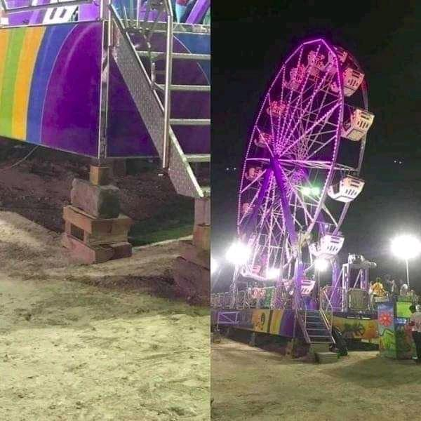 Ferris wheel Tourist attraction Light Wheel Amusement ride Fair Amusement park Fun