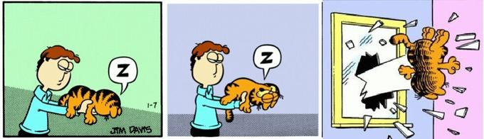 Garfield Last Panel Replacements Know Your Meme