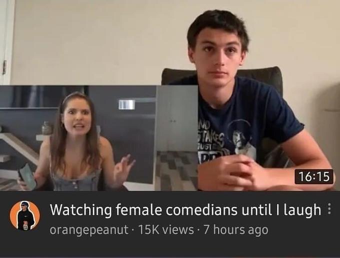 NO TAG JUST Dn 16:15 Watching female comedians until I laugh : orangepeanut · 15K views · 7 hours ago Amy Schumer Conversation Media Photo caption