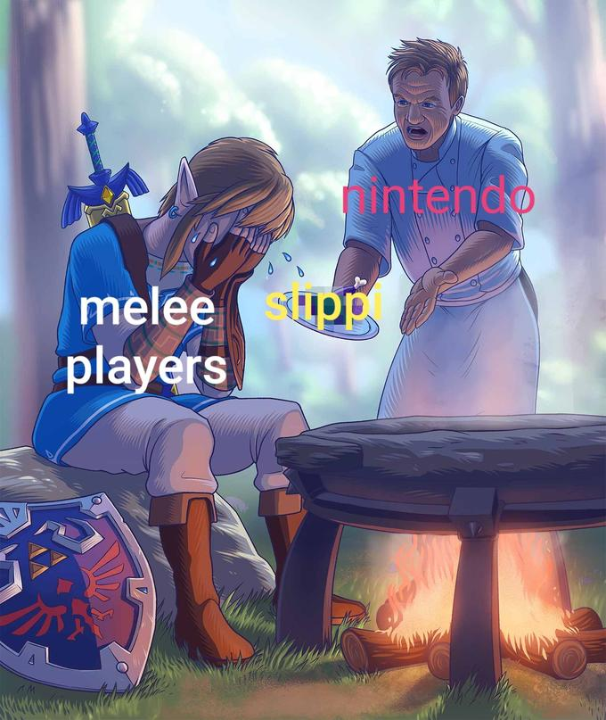 intendo melee Supp players Gordon Ramsay The Legend of Zelda: Breath of the Wild Princess Zelda Cartoon