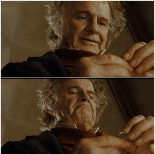 Bilbo Baggins Nose Lip Cheek Eye Skin Chin Eyebrow Mammal Wrist Wrinkle Muscle