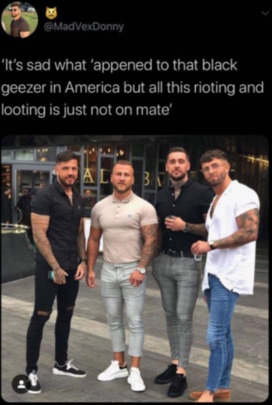 sad, innit? | Four Lads In Tight Jeans | Know Your Meme