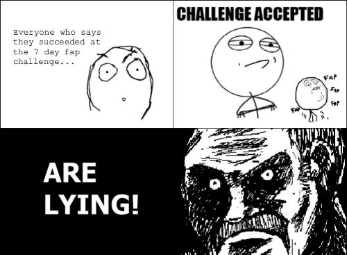 Challange no fap Events &