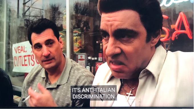 It's Anti-Italian Discrimination | Know Your Meme