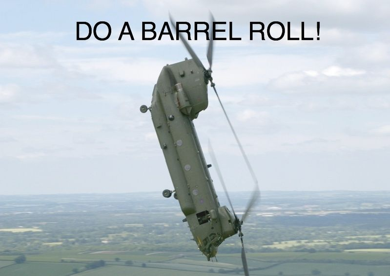 Image 406 Do A Barrel Roll Know Your Meme