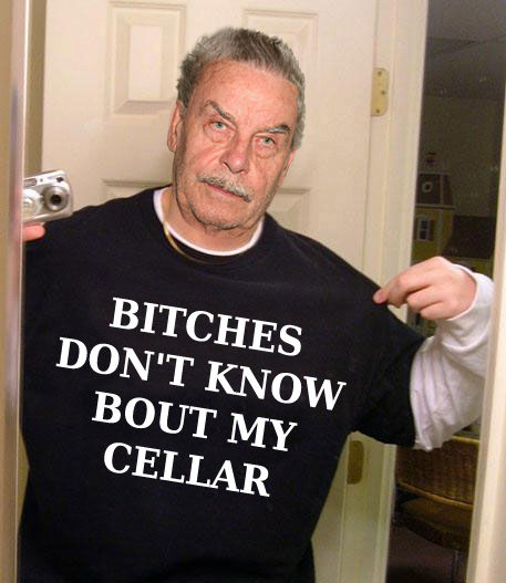 BITCHES DONu0027T KNOW BOUT MY CELLAR  sc 1 st  Know Your Meme & Image - 3128] | Basement Dad / Josef Fritzl | Know Your Meme