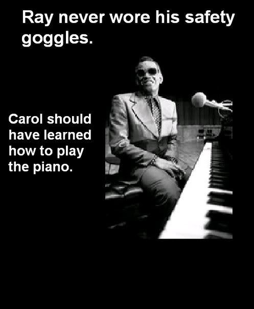 piano image 20909] carol's safety goggles know your meme