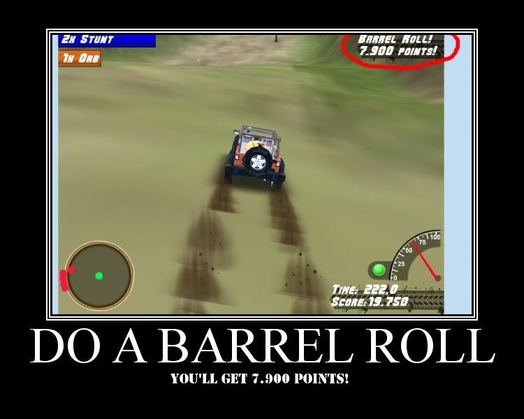 Image 30443 Do A Barrel Roll Know Your Meme