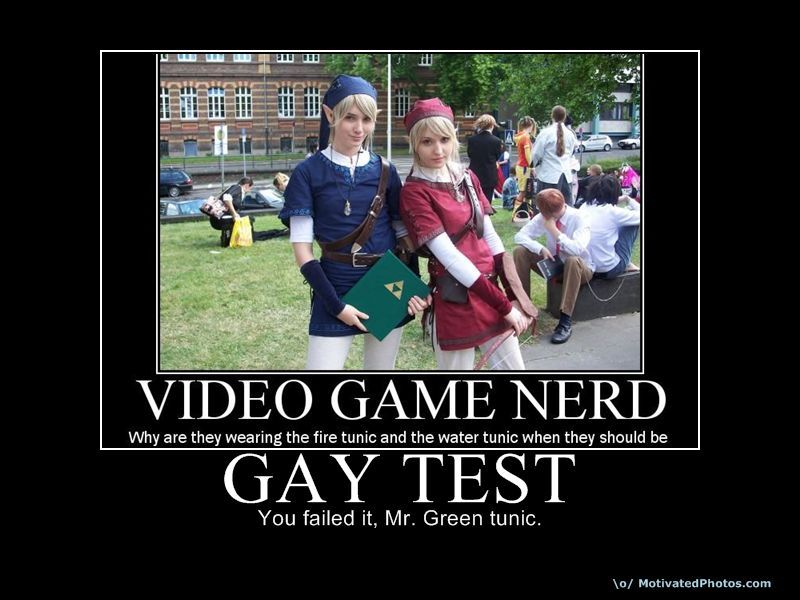 test Be gay