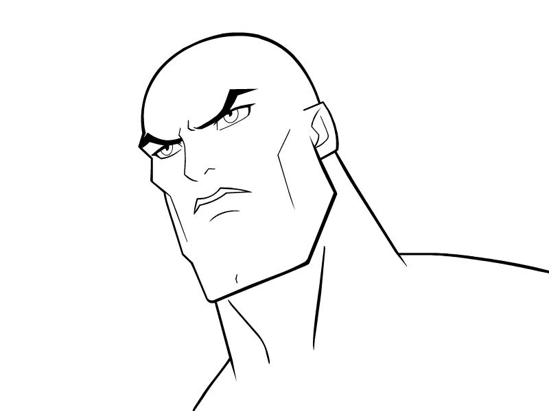 Line Art Face White Black Facial Expression Nose And Head Male Emotion Joint Smile