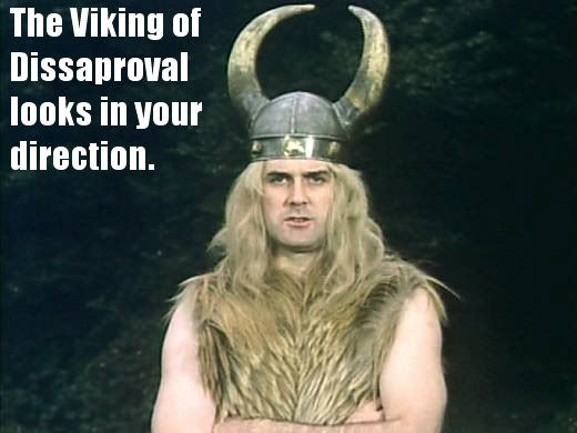 image 76578 the viking of disapproval know your meme