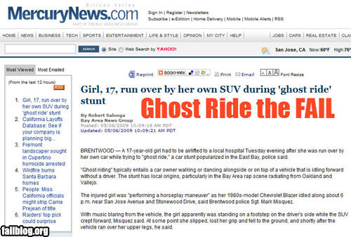 Image - 77849]   Ghost Riding / Ghost Ride The Whip   Know Your Meme
