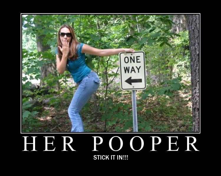 One Way Her Poo Per Stick It In