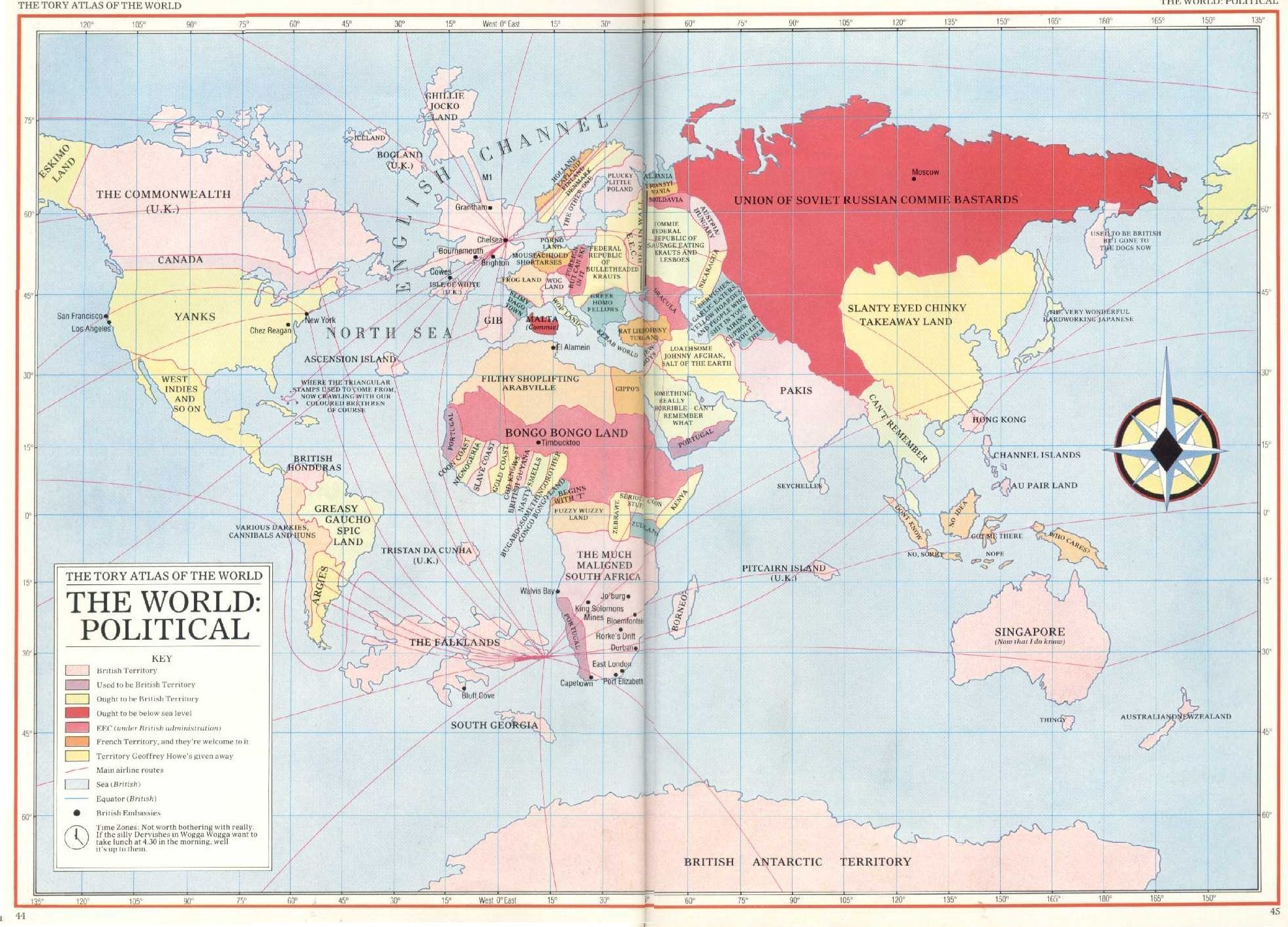 The tory atlas of the world west 0 eat 120 165 160 150 ifin