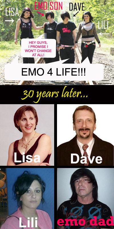 Image 98093 Emo Dad Know Your Meme
