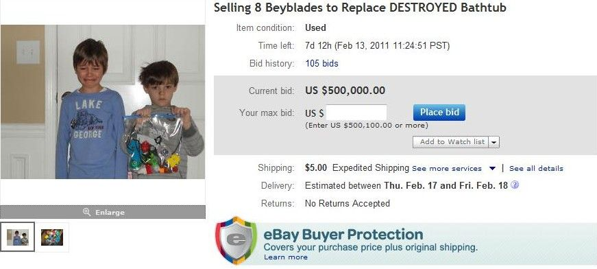 Image 98190 Beyblades Ebay Auction Know Your Meme