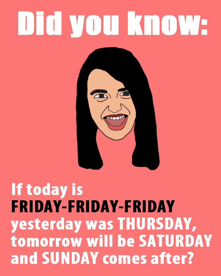 Image 110443 Rebecca Black Friday Know Your Meme