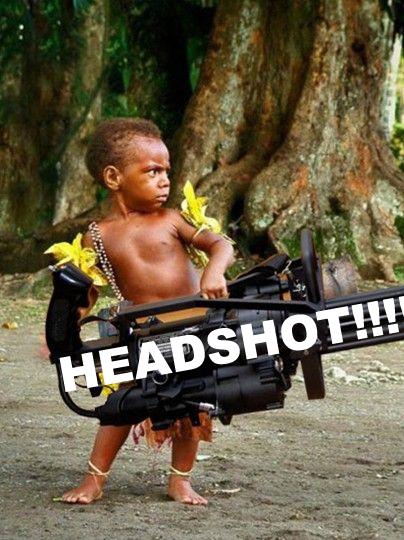 Image 120381 Boom Headshot Know Your Meme
