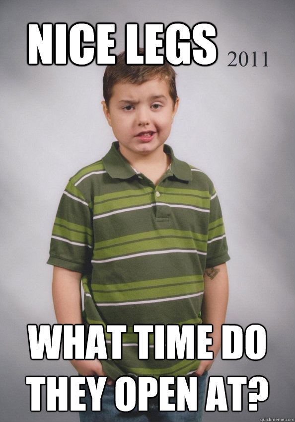 2m8p image 121711] suave six year old know your meme