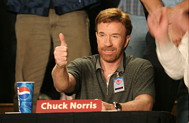Image result for chuck norris thumbs up gif