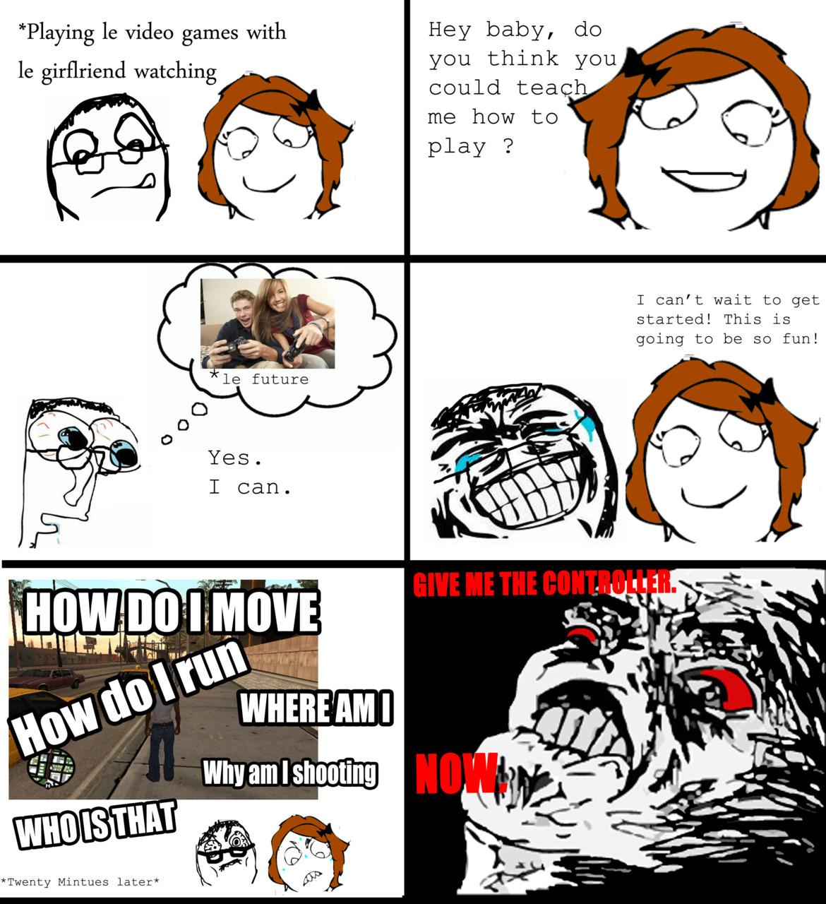 girlfriend hates video games
