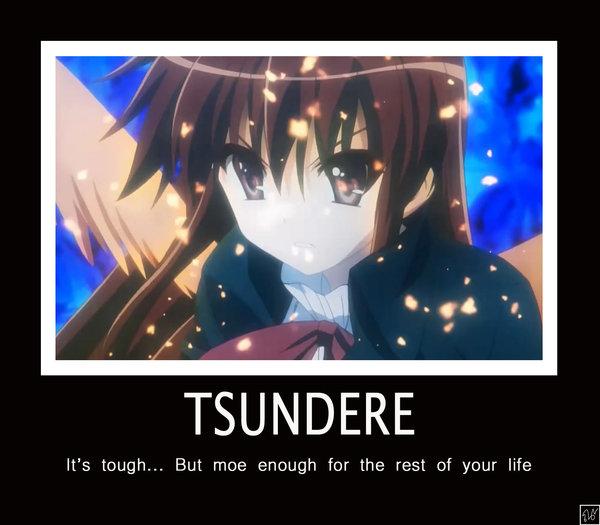 Tsundere_Wallpaper_by_Naginatas image 169209] tsundere know your meme