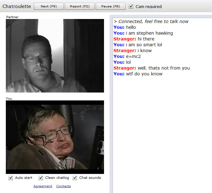 Chatroulette Omegle Talk To Strangers