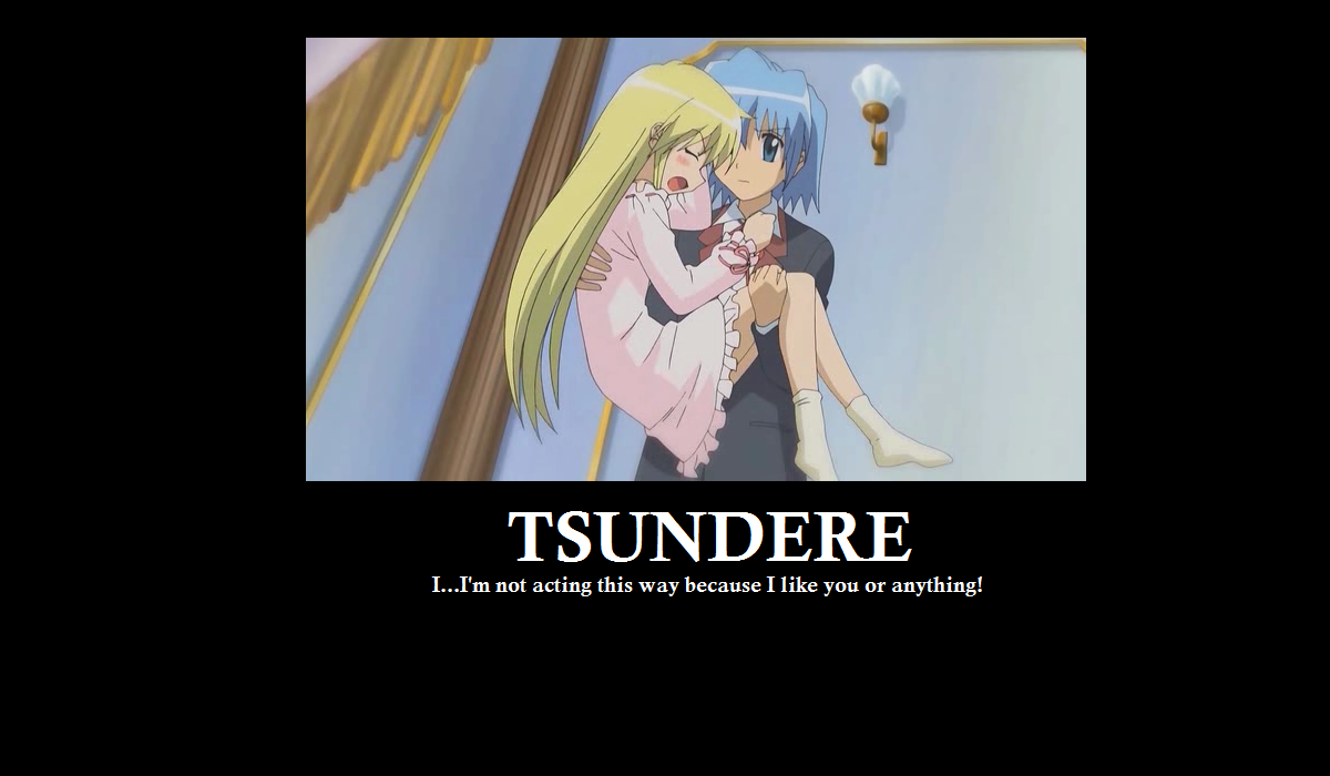 Tsundere_2_by_kidrogue42 a classic example tsundere know your meme