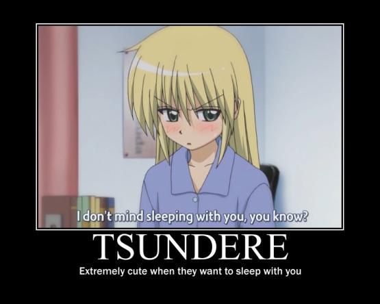 tsundere tsundere sleeping tsundere know your meme