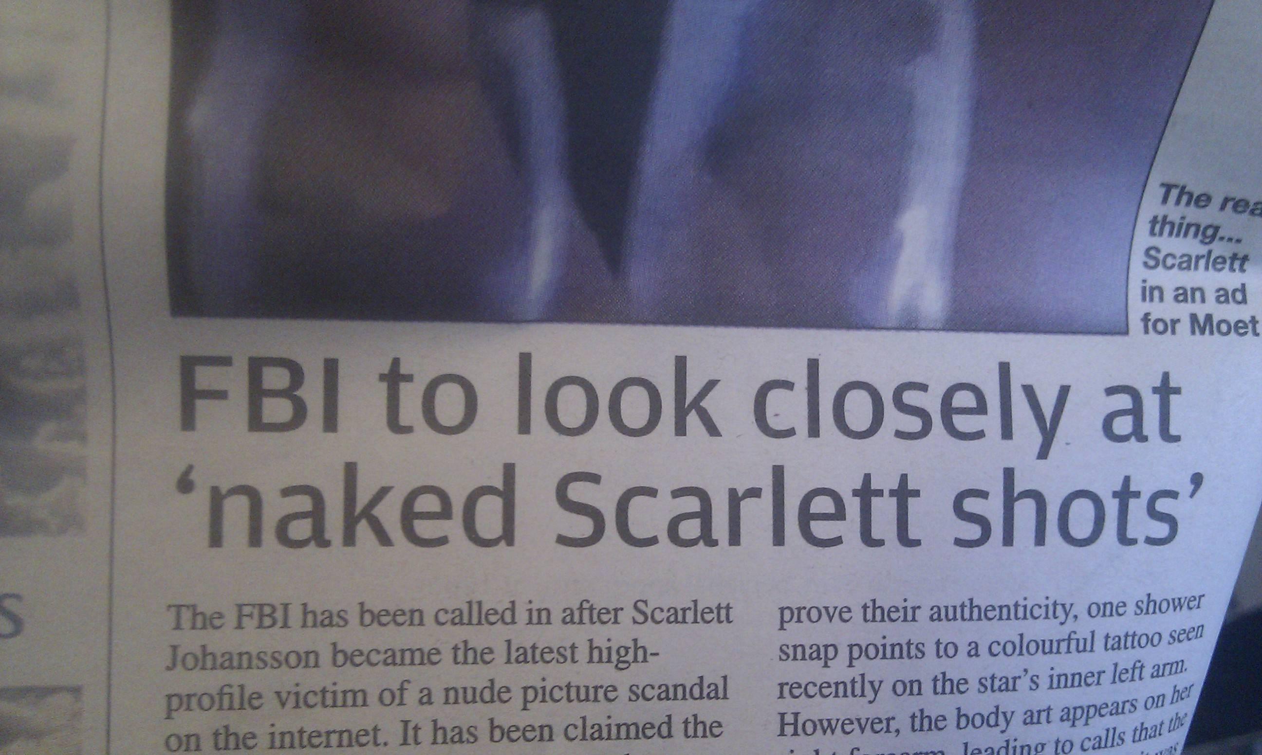 Scarlett johansson leaked bed nudes