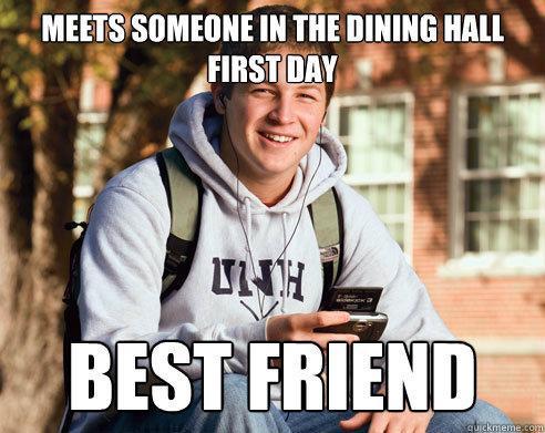 Image result for college friends meme